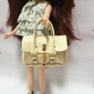 Cream Fashion Handbag for Blythe/Barbie/Pullip/Licca Doll