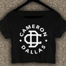Cameron Dallas T-shirt Magcon Boys Crop Top Cameron Dallas  Crop Tee CD#01