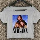 Nirvana Hanson T-shirt Nirvana Hanson Crop Top Nirvana Hanson Crop Tee NH#02