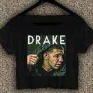 DRAKE Summer Sixteen T-shirt DRAKE Summer Sixteen Crop Top DRAKE Crop Tee DS#03