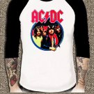 AC DC Shirt AC DC Rock Or Bust Tour Unisex Adults Tshirt Any Size #001