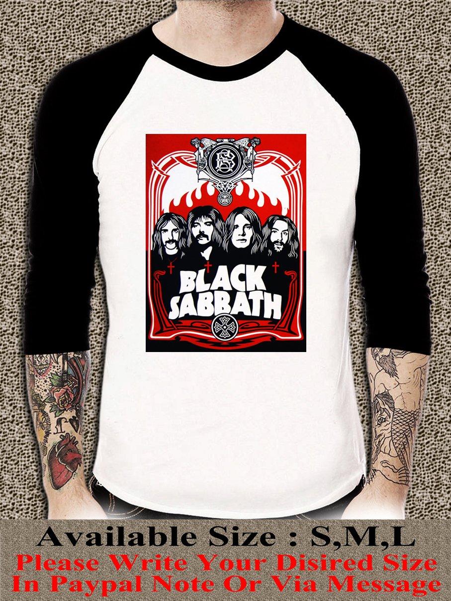 Black Sabbath Shirt Black Sabbath Unisex Adults Tshirt Any Size BSR#001