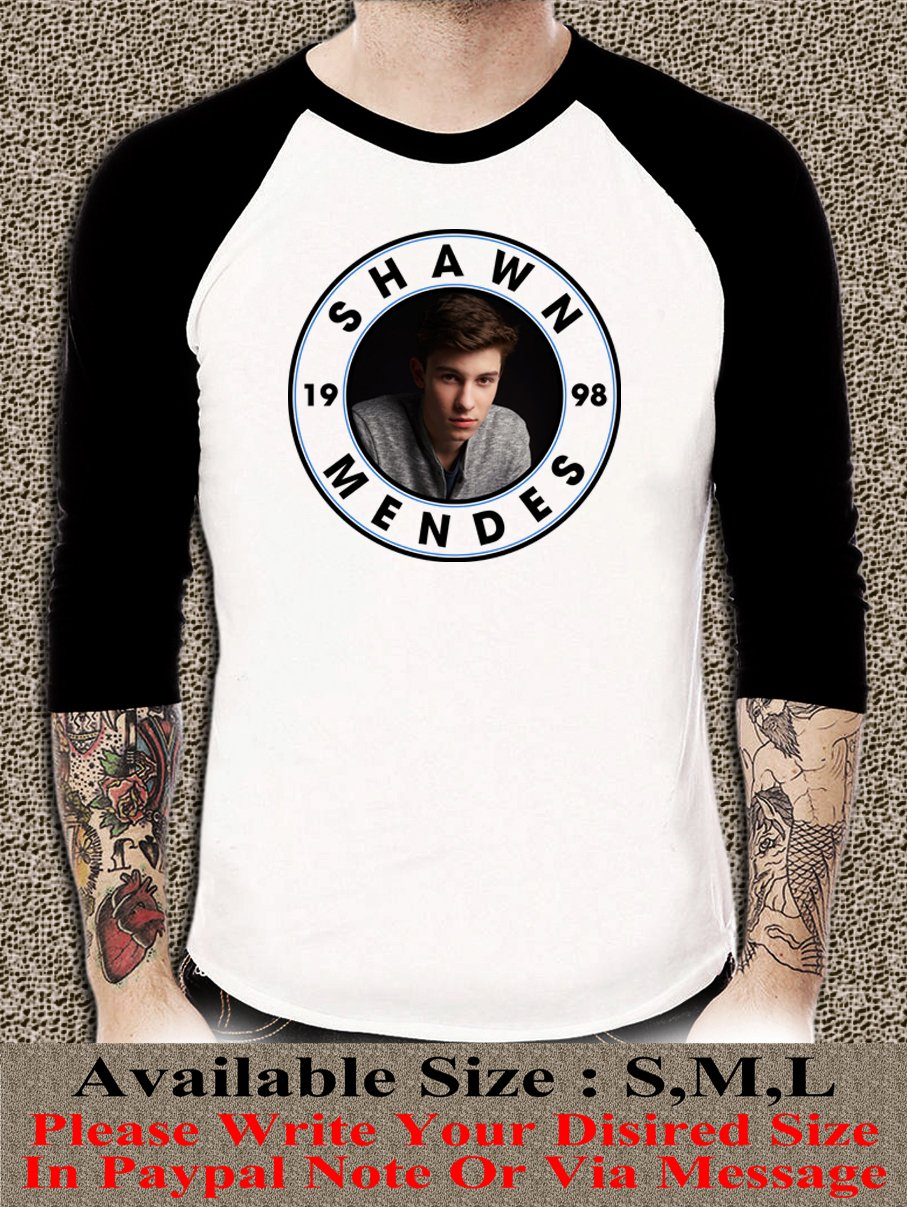 Shawn Mendes Shirt Shawn Mendes Unisex Adults Tshirt Any Size SMR#001