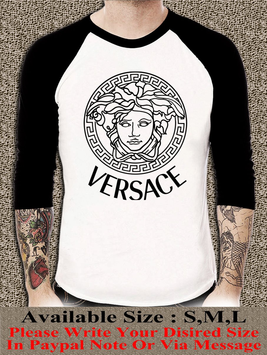 Versace Shirt Versace Unisex Adults Tshirt Any Size VR#001