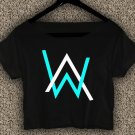 Alan Walker Faded T-shirt Electronic Music DJ Crop Top Divine Comedy Crop Tee AW#01