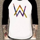 Electronic Music DJ Tee Divine Comedy Alan Walker Faded Logo Unisex Adults T-shirt AWR#01