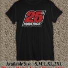 Maverick Vinales 25 Yamaha MotoGP T Shirt Size : S,M,L,XL,2XL MVK03