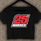 Maverick Vinales 25 Yamaha MotoGP T-shirt Maverick Vinales Crop Top Maverick Vinales Crop Tee #02
