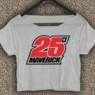 Maverick Vinales 25 Yamaha MotoGP T-shirt Maverick Vinales Crop Top Maverick Vinales Crop Tee #03