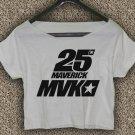 Maverick Vinales 25 Yamaha MotoGP T-shirt Maverick Vinales Crop Top Maverick Vinales Crop Tee #04