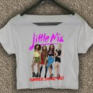 Little mix T-shirt Little mix Crop Top Little mix summer shout out Crop Tee LM#03