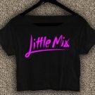 Little mix Tour 2017 T-shirt Little mix Tour 2017 Crop Top Little mix Crop Tee LM#06