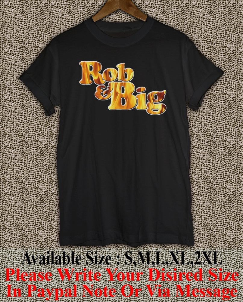 Rob & Big star Christopher Boykin' U.S. Navy Big Black UFC Logo Men's T-Shirt RB01