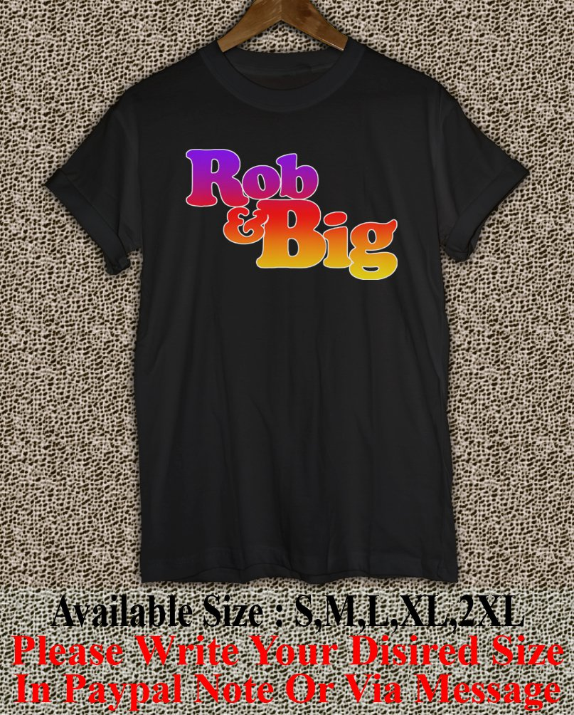 Rob & Big star Christopher Boykin' U.S. Navy Big Black UFC Logo Men's T-Shirt RB03
