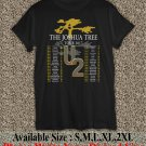 U2 The Joshua Tree Tour 2017 Black T-Shirt Men Music Concert Tee Size S to 2X TJT03