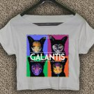 Galantis T-shirt Galantis Crop Top Galantis On Tour Crop Tee GLT#02