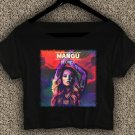 Becky G Mayores T-shirt Becky G Crop Top Becky G Yellow Ranger Crop Tee BG#02