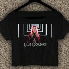 Ellie Goulding T-shirt Ellie Goulding Crop Top Ellie Goulding Still Falling For You Crop Tee EG#03