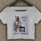 LAURA MARANO T-shirt LAURA MARANO Crop Top LAURA MARANO Boombox Crop Tee LM#08