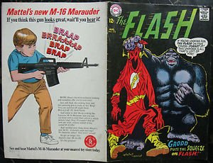 THE FLASH# 172 Aug 1967 Grodd Infantino/Anderson Cov ORIGINAL FULL COVERS ONLY!