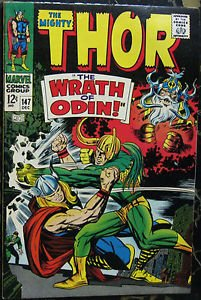 THOR# 147 Dec 1967 Origin of the Inhumans Kirby Art Silver Age KEY: 9.0 VF-NM