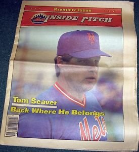 1983 METS INSIDE PITCH MAGAZINE 1st Issue Vol 1 #1 Tom Seaver Cover Story: EX-NM