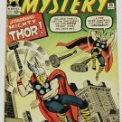 JOURNEY INTO MYSTERY# 95 Aug 1963 Thor v Thor Kirby Cover/Sinnott Art: 7.5 VF-