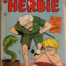 HERBIE# 5 Oct-Nov 1964 BEATLES PARODY D MARTIN/F SINATRA WHITNEY ART: 7.0 FN-VF