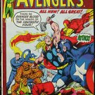 AVENGERS# 93 Nov 1971 Ant-Man Ultron N Adams Cov/Art Bronze KEY: 7.0 FN-VF