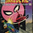 DAREDEVIL# 17 June 1966 2nd John Romita Spider-Man Romita Cover/Art KEY: 8.0 VF