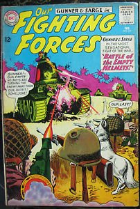 OUR FIGHTING FORCES# 82 Feb 1964 Gunner & Sarge Grandenetti Cov/Art SA:7.0 FN-VF