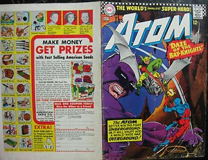 THE ATOM# 30 Apr-May 1967 Gil Kane Cover ORIGINAL FULL COVERS ONLY! Silver Age