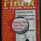 THE NUTRIBASE GUIDE TO FAT & FIBER IN YOUR FOOD by Dr. Art Ulene PB AVERY: GOOD