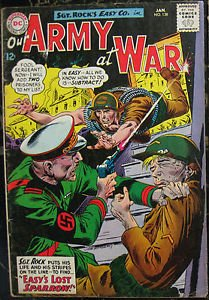 OUR ARMY AT WAR# 138 Jan 1964 Sgt Rock 1st Sparrow Kubert Cov/Art SA KEY: 6.0 FN