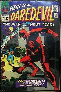 DAREDEVIL# 10 Oct 1965 1st Ani-Men Organizer Wally Wood Covr Silver KEY: 6.0 FN