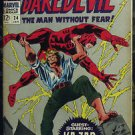 DAREDEVIL# 24 Jan 1967 Kazar Gene Colan Cover/Art Silver Age: 7.5 VF-