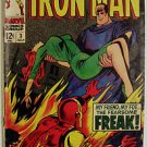 IRON MAN LOT# 3,5,100,120,129,130,134,140,142,144,150,200+ 5 MORE 1968-87:FN-NM