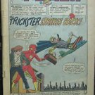 THE FLASH LOT# 121, 142, 159, 222 Jun 1961-July/Aug 1973 2nd Trickster GL COVERLESS