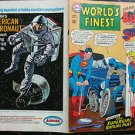 WORLD'S FINEST COMICS# 169 Sep 1967 3rd Batgirl ORIGINAL FULL COVERS ONLY!