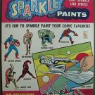KENNER'S MARVEL SUPERHEROES SPARKLE PAINTS SET#253H 1967 MARVELMANIA:EXCEPTIONAL