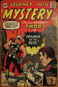 JOURNEY INTO MYSTERY# 87 Dec 1962 5th Thor Kirby Cover/Art Cold War: 5.0 VG-FN
