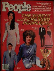 PEOPLE MAGAZINE SEPT 20, 1982 Princess Diana, Sophia Loren, Paul McCartney: EXC