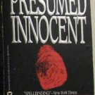 PRESUMED INNOCENT by Scott Turow PAPERBACK WARNER BOOKS May 1988 1st Print: GOOD
