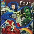 FANTASTIC FOUR# 65 Aug 1967 1st Ronan the Accuser 1st Kree Kirby KEY: 7.5 VF-