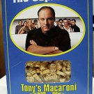 THE SOPRANOS TONY'S MACARONI 16 oz BOX of TONY SOPRANOS MACARONI PASTA HBO: NEW!
