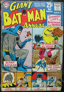 BATMAN ANNUAL# 5 Summer 1963 Sprang/Moldoff Cover Art Silver Age DC: 5.0 VG-FN