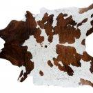Tricolor Cowhide Area Rug Cow Hide - Size Large