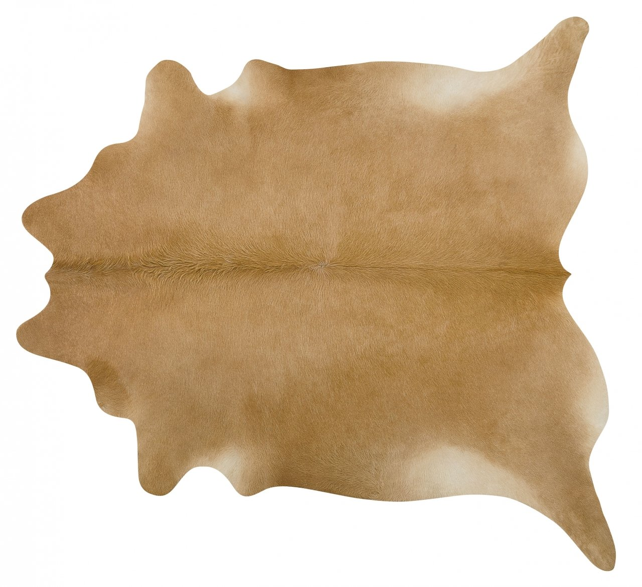 Brazilian Palomino Cowhide Rug Cow Hide Area Rugs - Size XL
