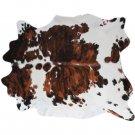 Tricolor Cowhide Rug XXL (8' x 7')
