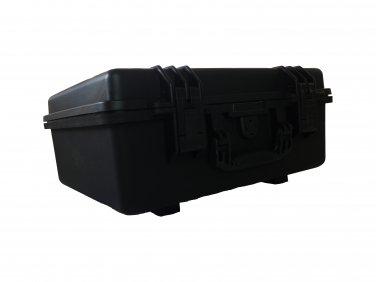 Gun case, pull pluck foam BB-2730 dust and waterproof storage black